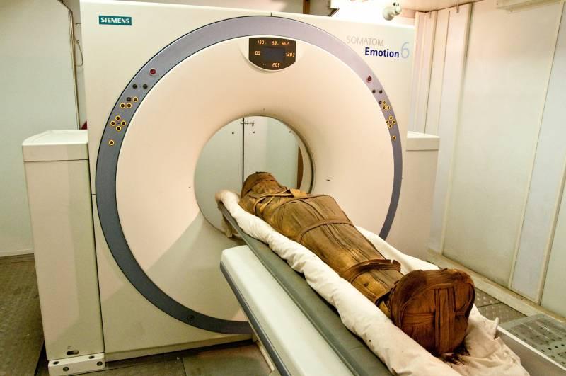 Descubren cardiopatías en las momias egipcias