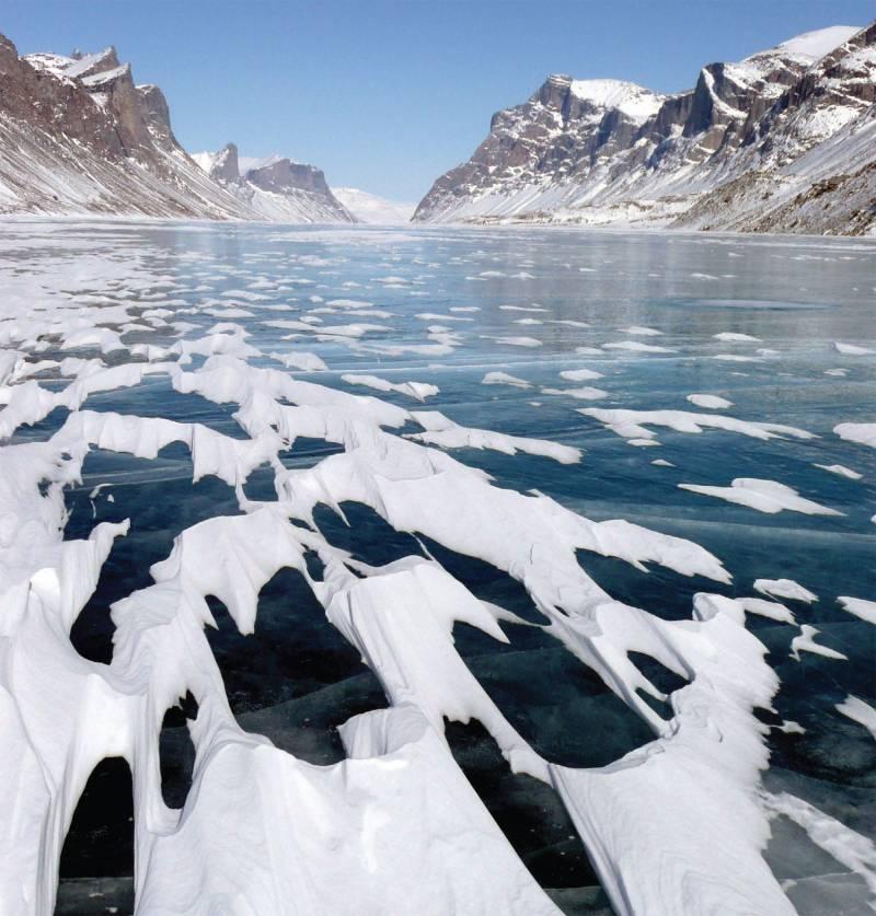 Encuentran unas muestras de sedimentos en el Ártico con registros de diferentes cambios climáticos