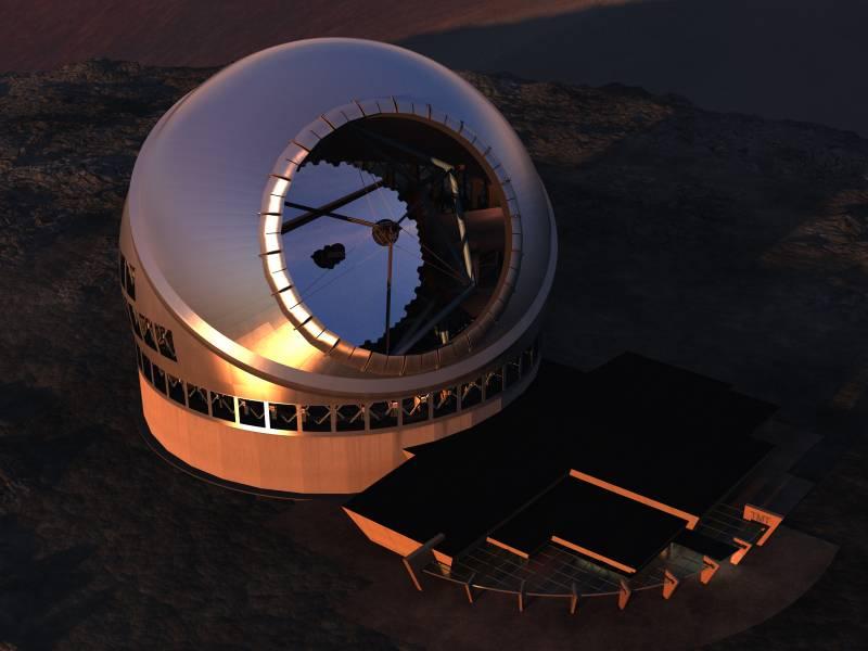 Thrity Meter Telescope (TMT).