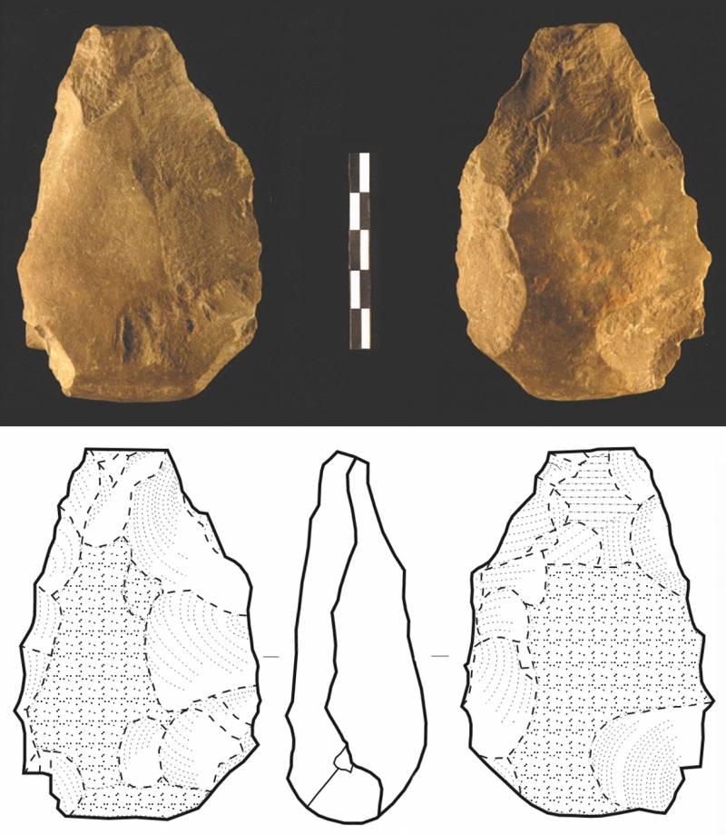 Las hachas de mano, una herramienta más antigua de lo que se creía