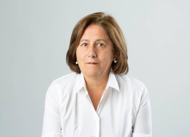 la investigadora María Butí