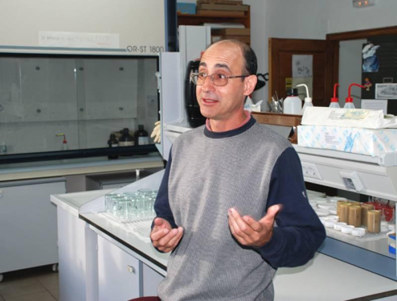 El biólogo Serafín González