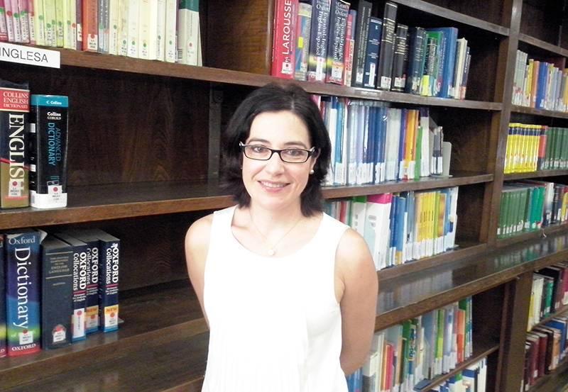 Carmen Maíz Arévalo, profesora del departamento de Filología Inglesa I / UCM.