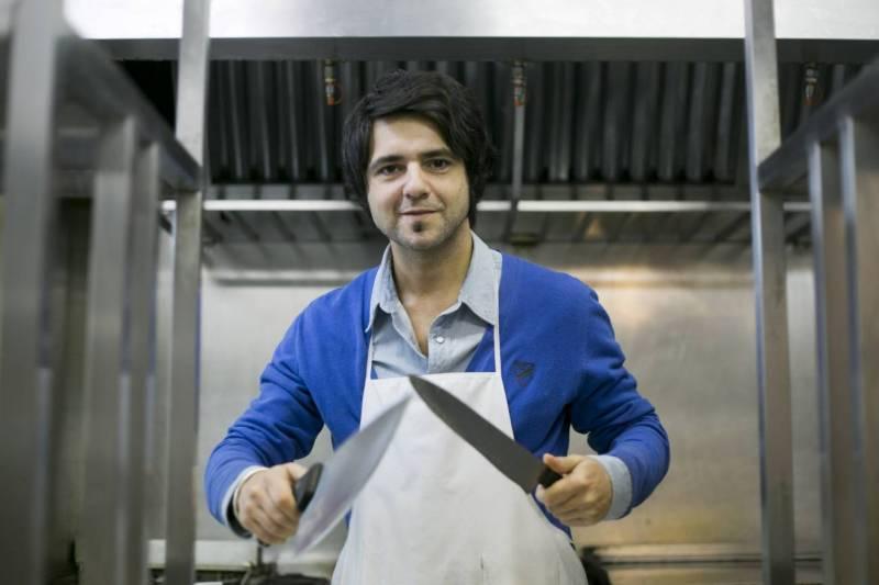 Jorge Cuéllar cuchillos