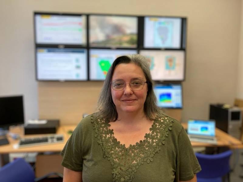 La vulcanóloga Alicia Felpeto