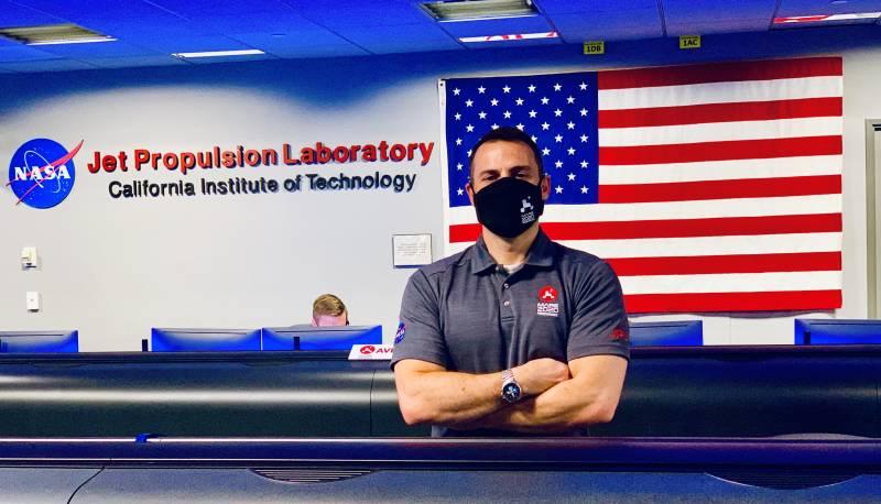 Fernando Abilleira en JPL/NASA