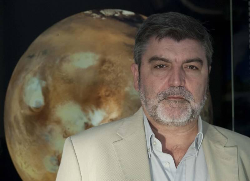 Jesús Martínez-Frías, investigador científico del Instituto de Geociencias (CSIC-Universidad Complutense de Madrid).