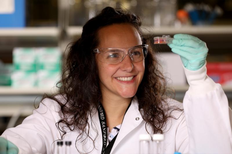 la investigadora española Pilar de la Puente