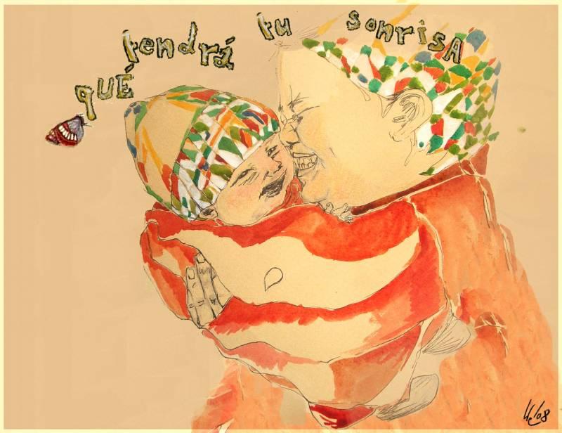 """La sonrisa de un bebé es un """"subidón"""" natural"""