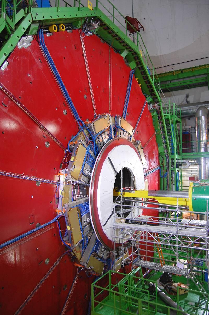 Últimas pruebas en el detector CMS