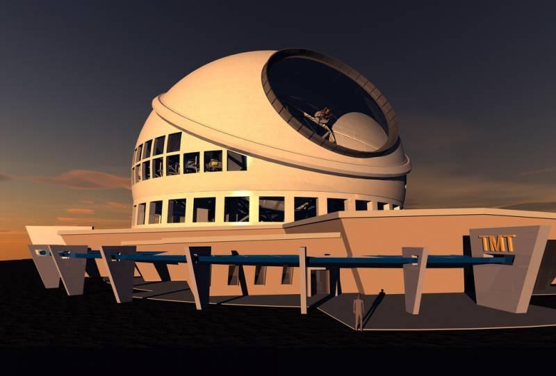Aprobada la construcción del gigantesco telescopio TMT en Hawai