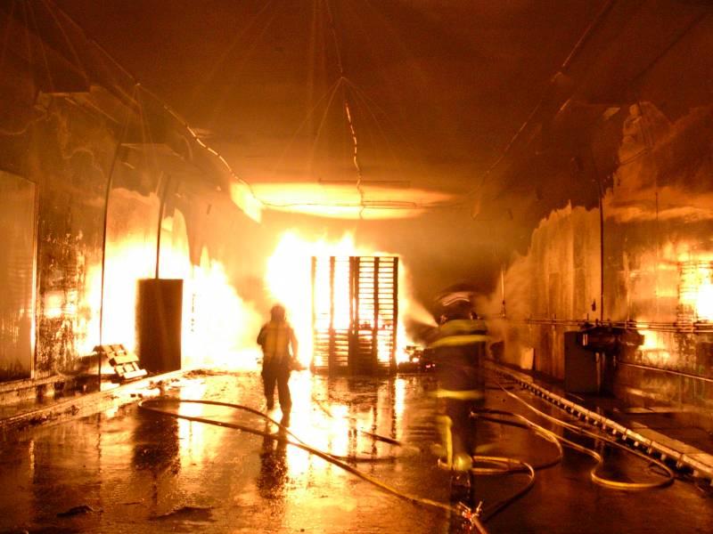 Fuego bajo la superficie