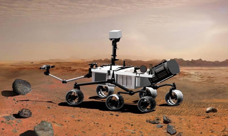 Científicos españoles diseñan un chip para medir el viento de Marte