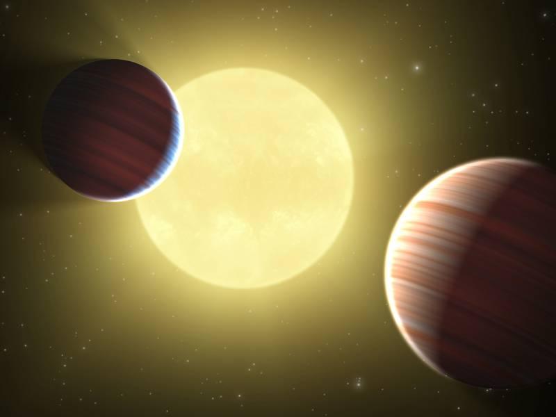Detectan dos 'Saturnos' en un nuevo sistema planetario