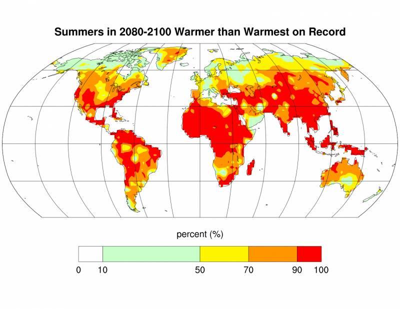 El calentamiento global provocará escasez de alimentos