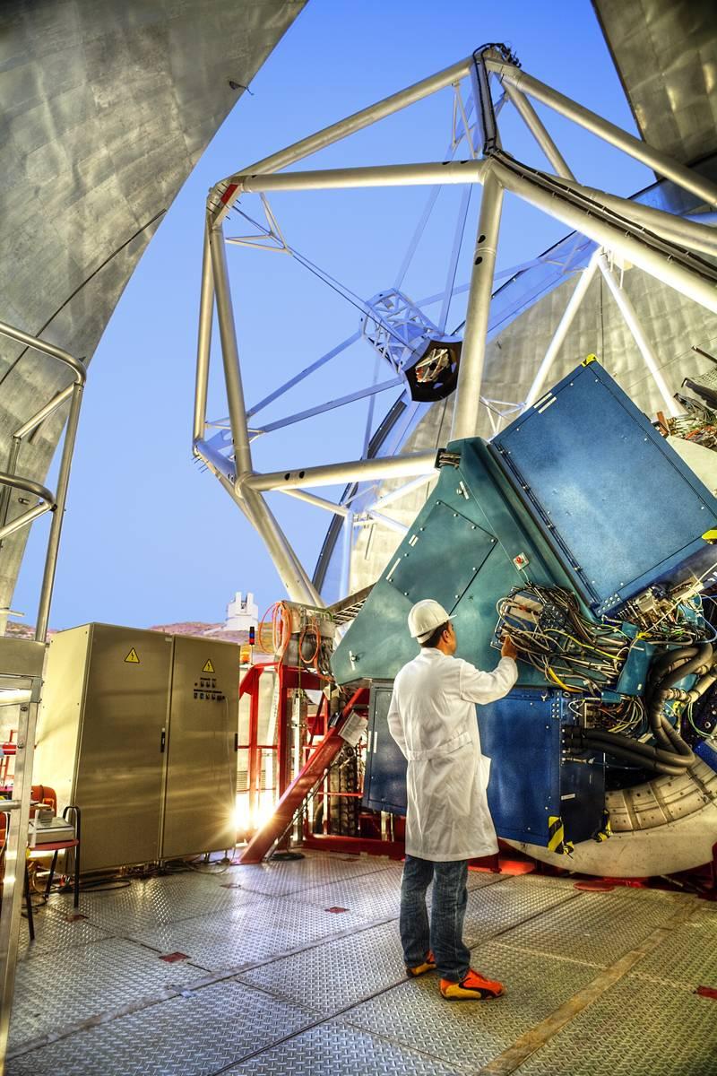 El GTC da a luz una nueva técnica para la observación de planetas