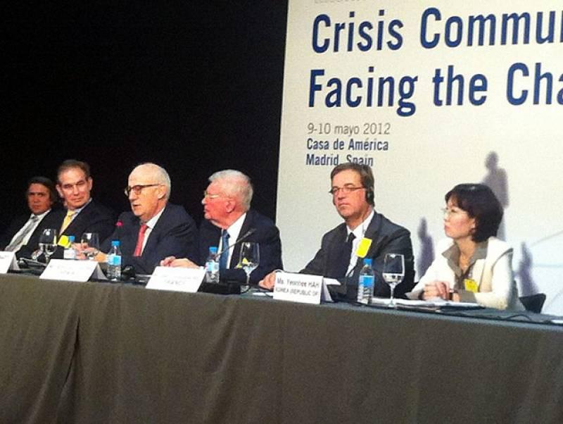 Reunión de expertos nucleares en Madrid