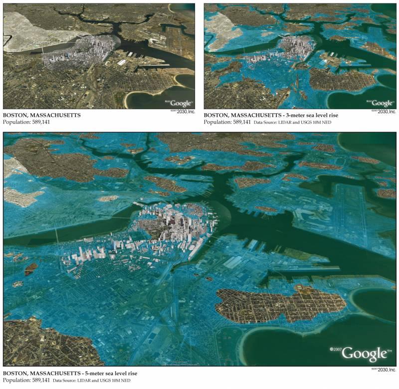 ¿Ciencia ficción? Las consecuencias de una subida del nivel del mar en EE UU