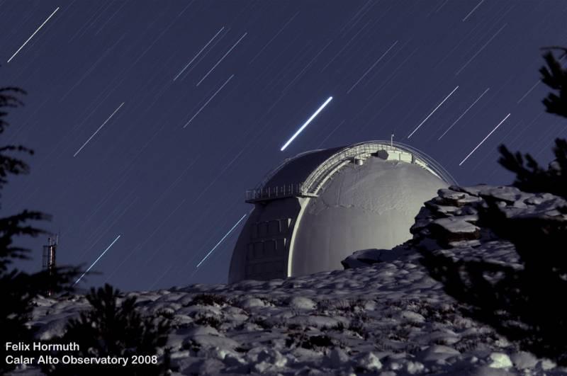 El observatorio de Calar Alto es uno de los más oscuros del mundo