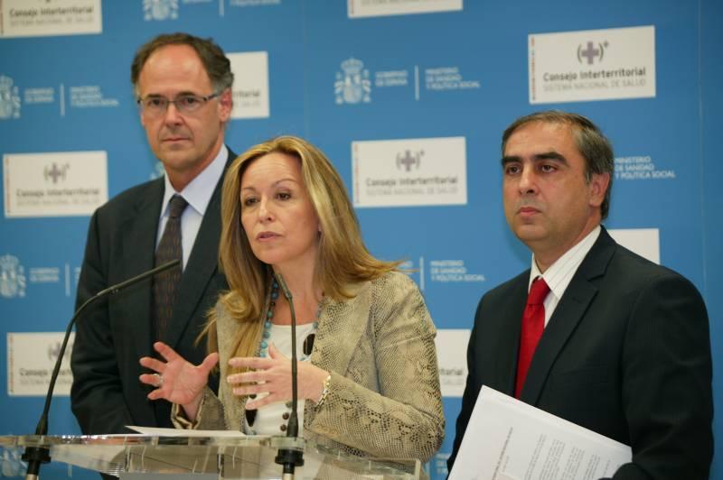 Trinidad Jiménez informa al Consejo Interterritorial sobre el Plan de Prevención de la Gripe A