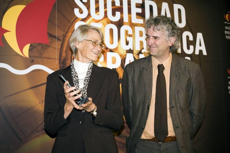 La Sociedad Geográfica Española premia al antropólogo Claude Lèvi-Strauss