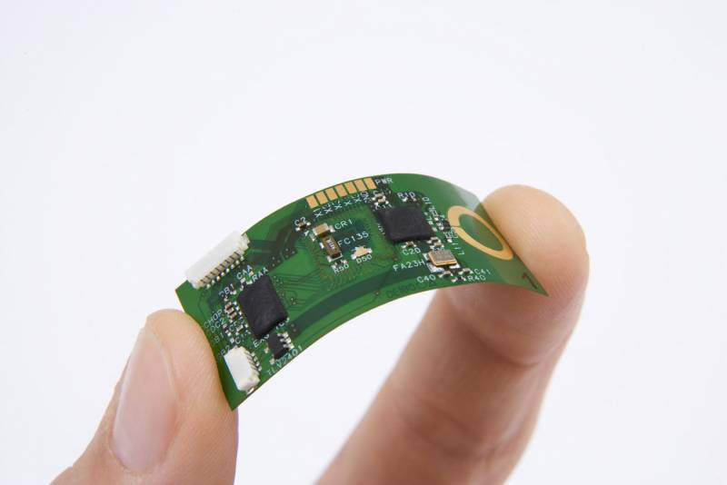 Desarrollan un chip ultrafino para dispositivos electrónicos portátiles