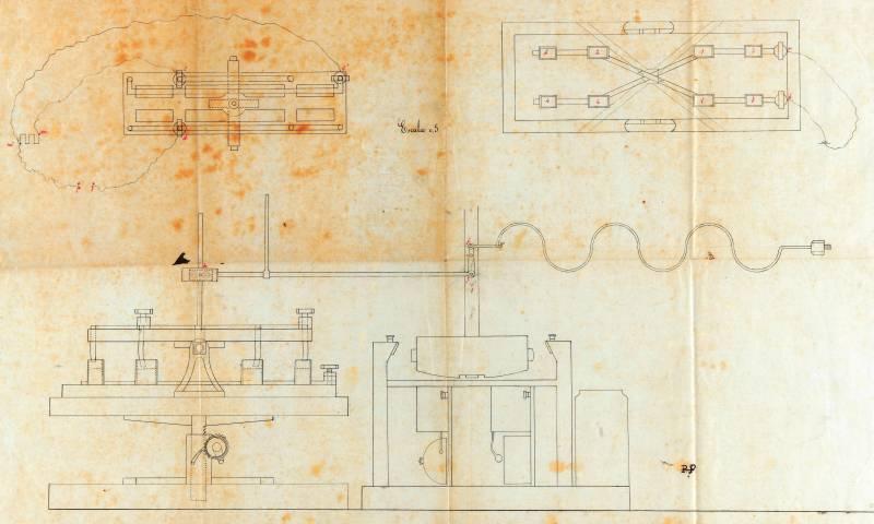 Planos del submarino Peral