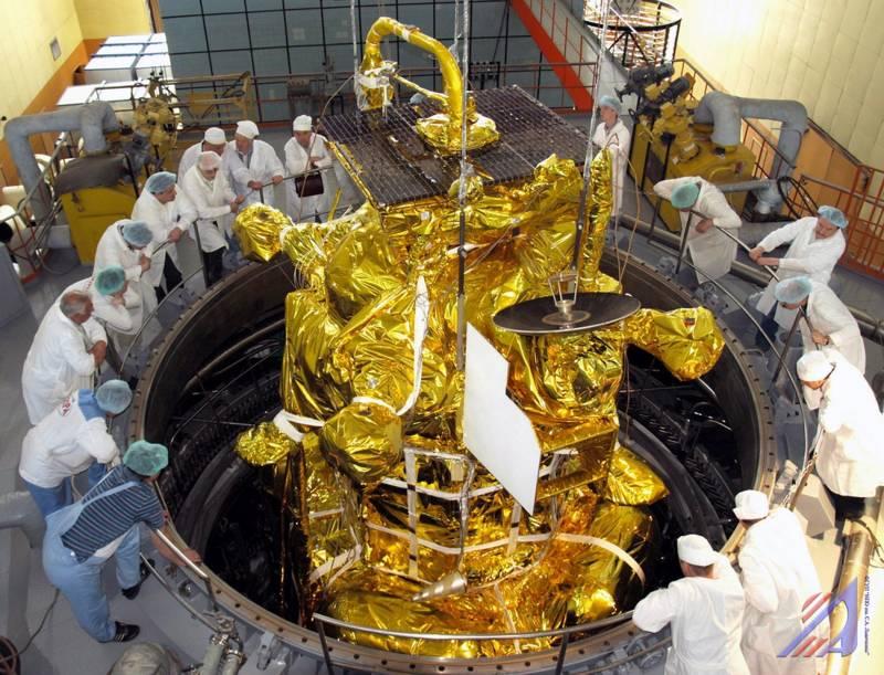 Científicos rusos preparan la sonda antes del despegue