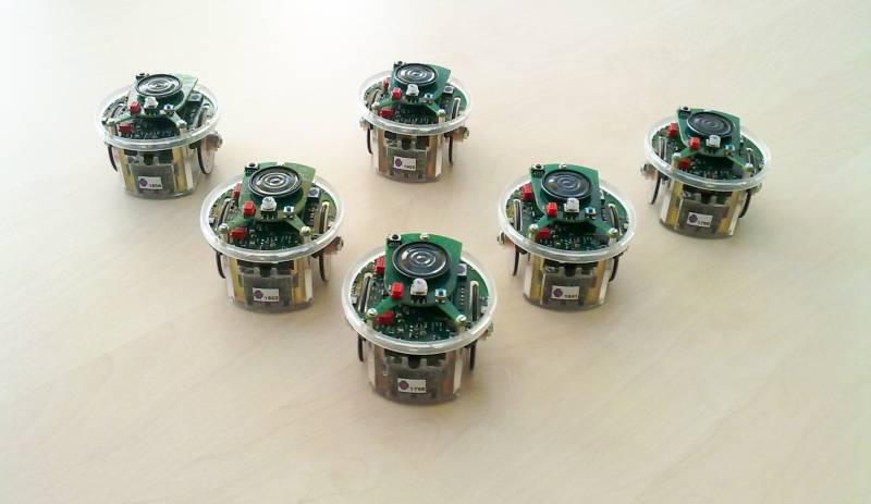 Muestra de los robots utilizados / UNED.
