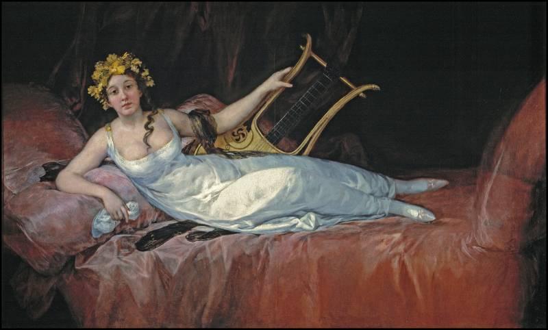 Joaquina Téllez-Girón y Pimentel, marquesa de Santa Cruz. Francisco de Goya y Lucientes (1805). Museo Nacional del Prado.