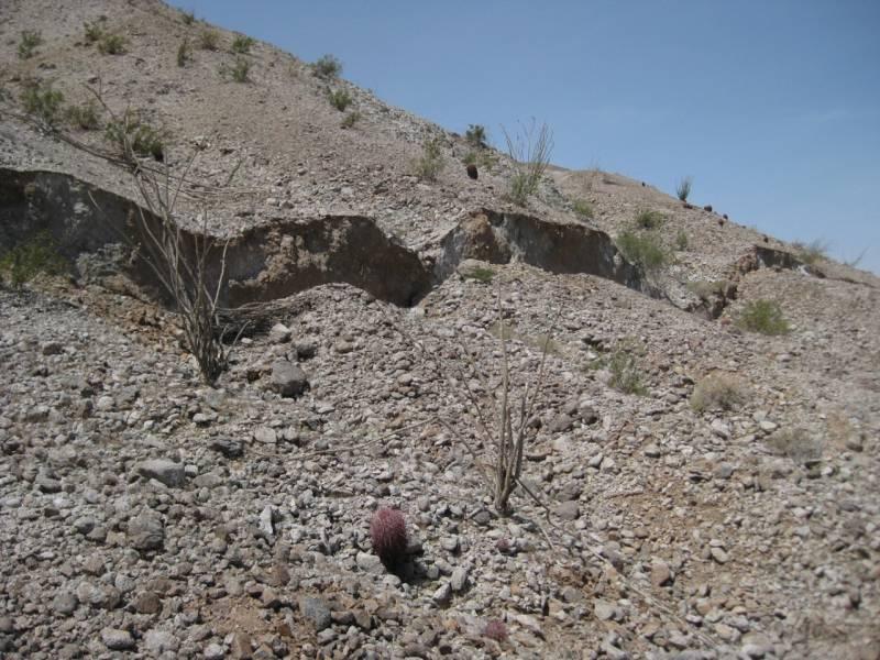 grieta de terremoto