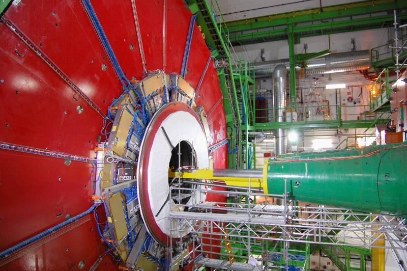 CMS: en busca del bosón de Higgs