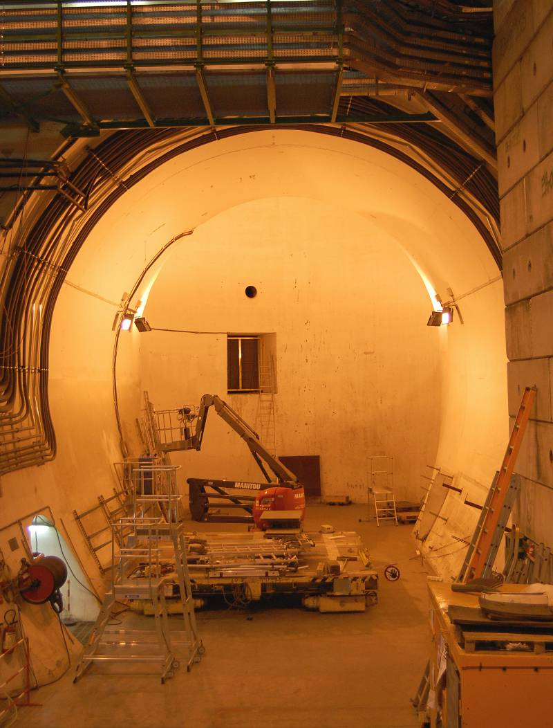 La caverna del LHCb