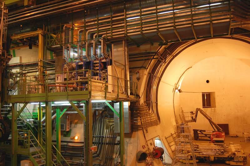 Otra vista de la caverna del LHCb