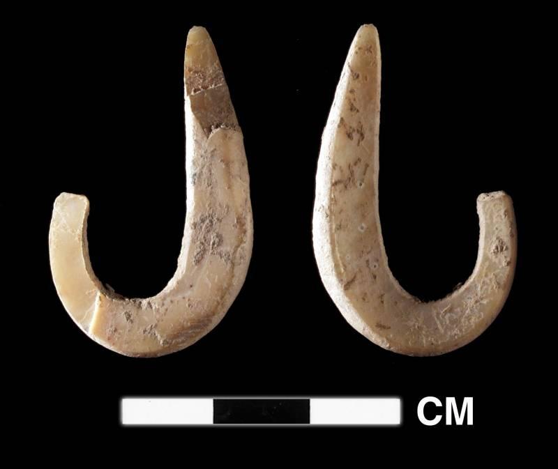 Anzuelos de hace 42.000 años