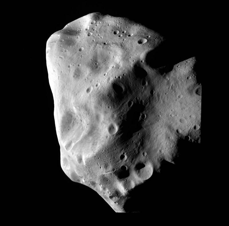 Rosetta desvela el misterioso rostro del asteroide Lutetia