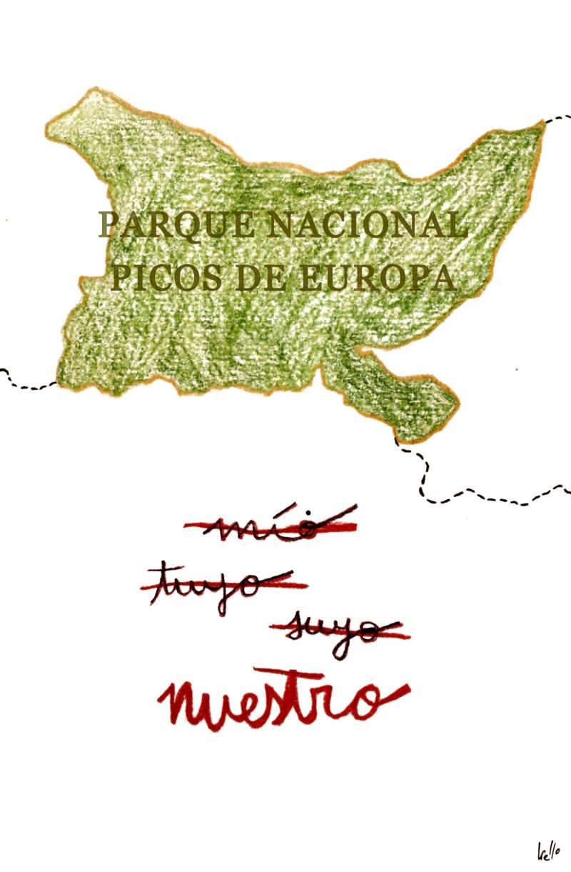 1918: Declaran al macizo de Picos de Europa Parque Nacional de la Montaña de Covadonga (luego P.N. Picos de Europa)