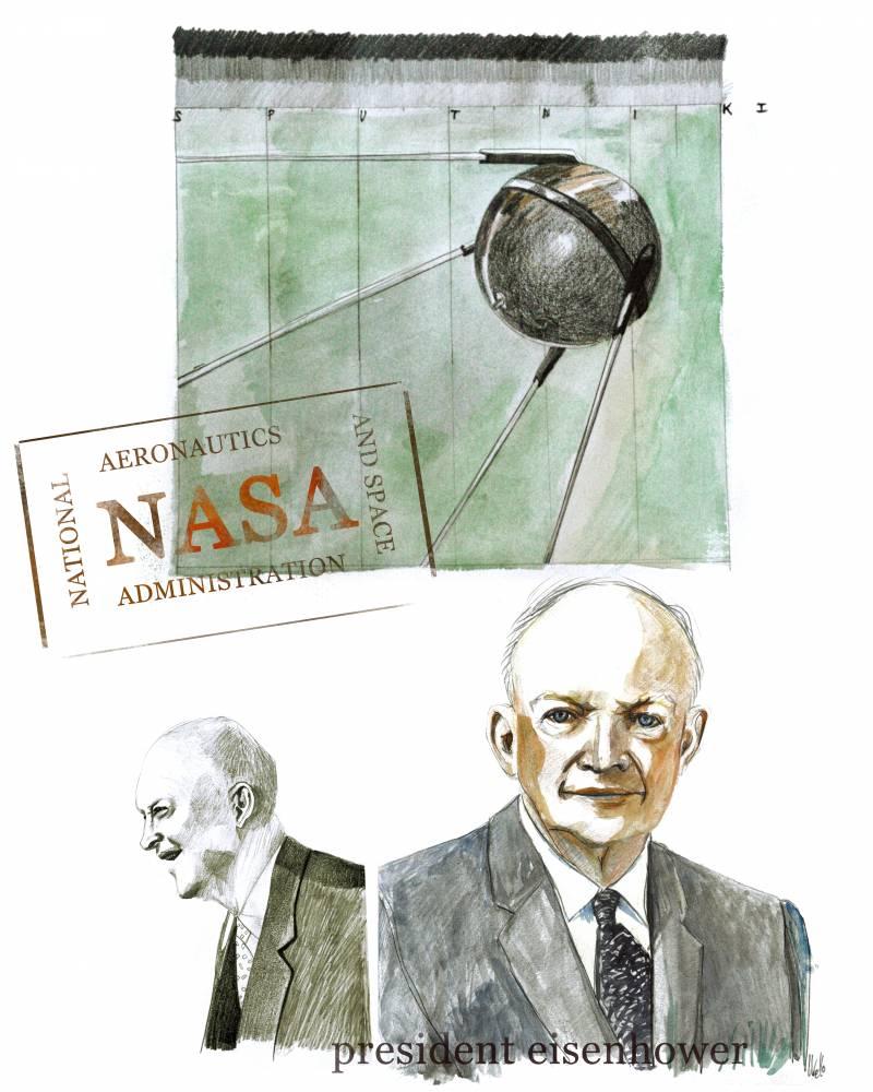 29 de julio de 1958: tras meses de debate, nace la NASA con el fin de dirigir la actividad espacial no militar en EEUU