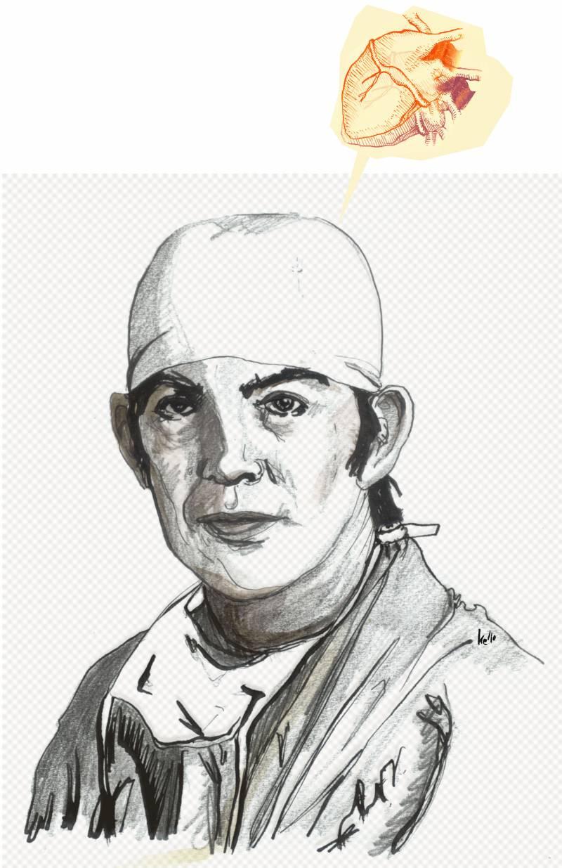 Noviembre de 1967, Ciudad de El Cabo, Sudáfrica: el cirujano Christiaan Barnard realiza el primer trasplante de corazón de la historia