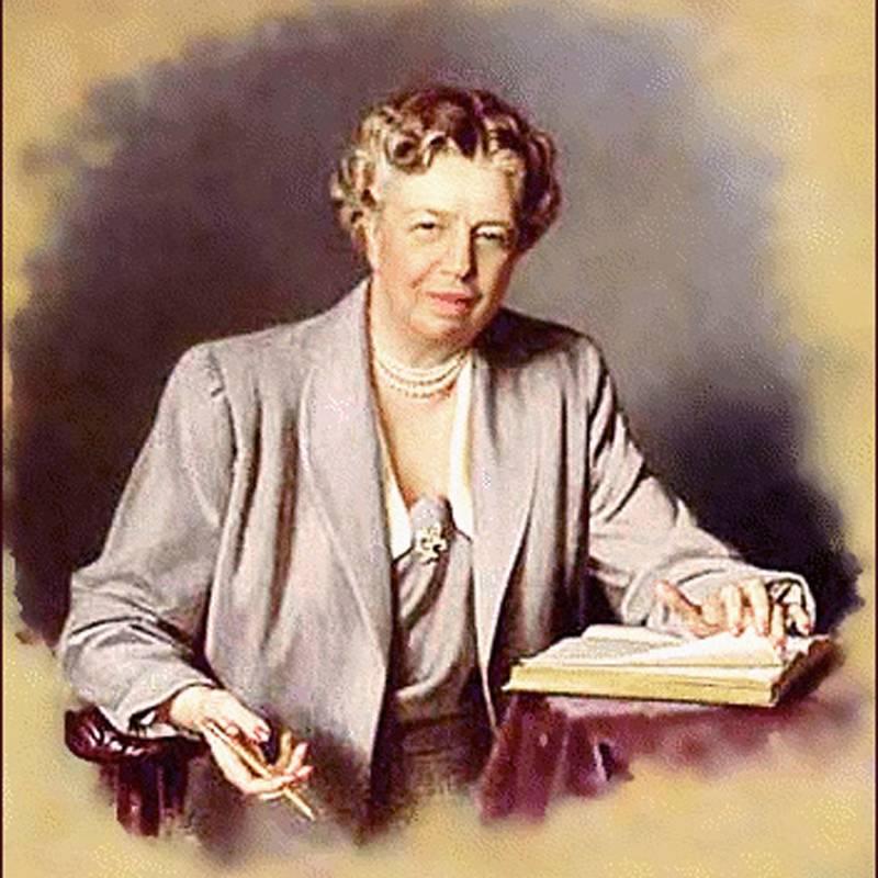 Aniversario del nacimiento de Eleanor Roosevelt