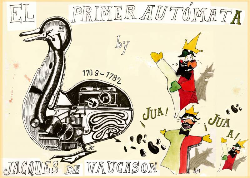 Se cumplen 300 años del nacimiento de Jacques de Vaucason, inventor de los primeros robots