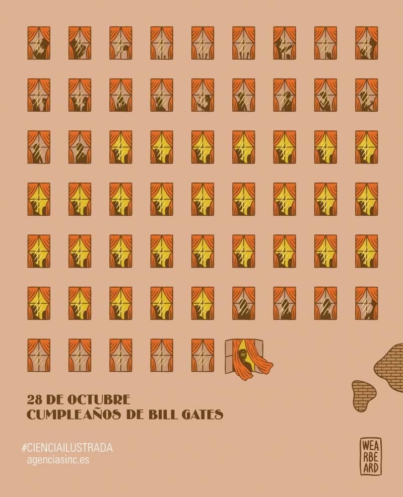 60 cumpleaños de Bill Gates