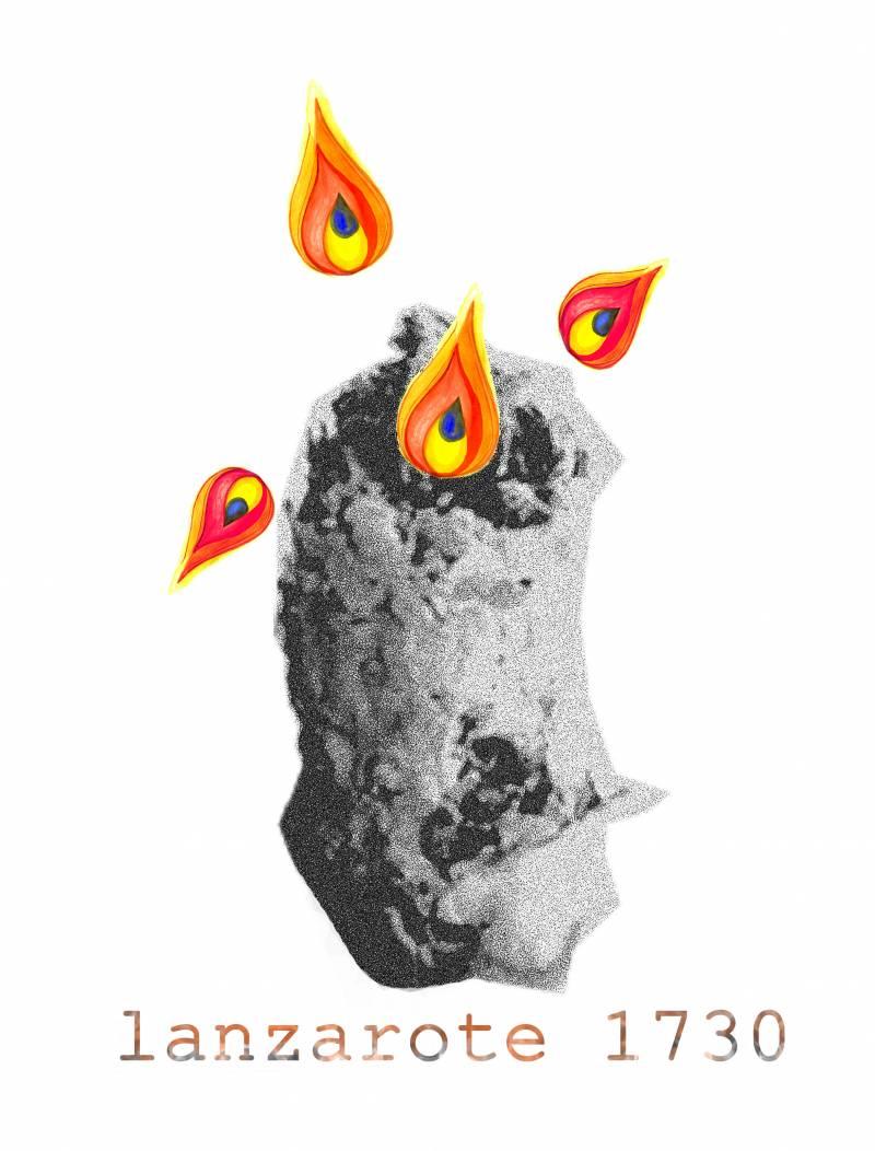 El 1 de septiembre de 1730 el volcán Timanfaya hace erupción en la isla de Lanzarote (Islas Canarias)
