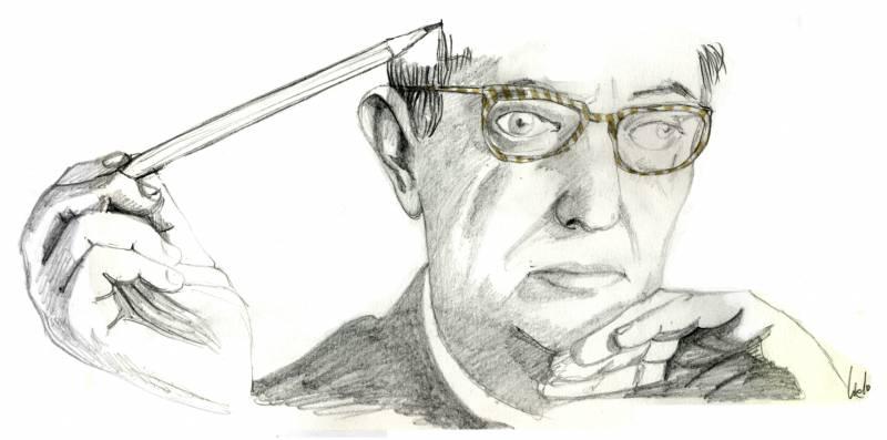 El 15 de abril de 1950 muere el filósofo francés Jean Paul Sartre