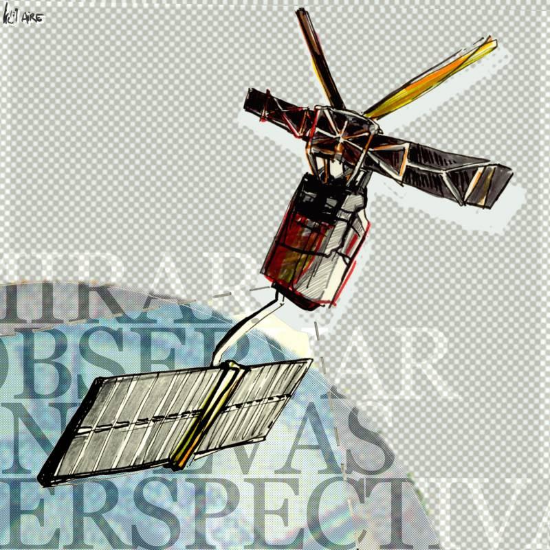 El 17 de julio de 1991 la ESA lanza ERS, su primer satélite de observación de la Tierra