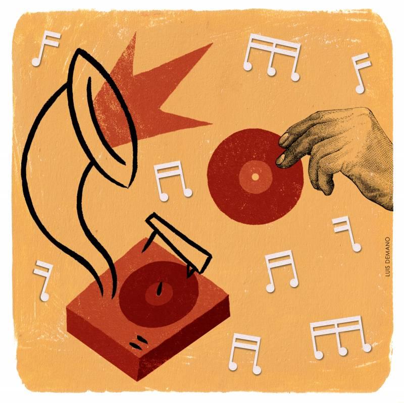 El 19 de febrero de 1878 Thomas A. Edison patenta el fonógrafo