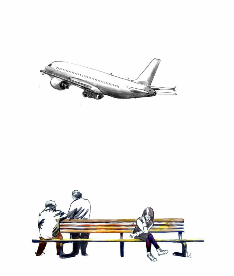 El 4 de noviembre de 1970 se abre con el primer vuelo el puente aéreo que une Barcelona y Madrid