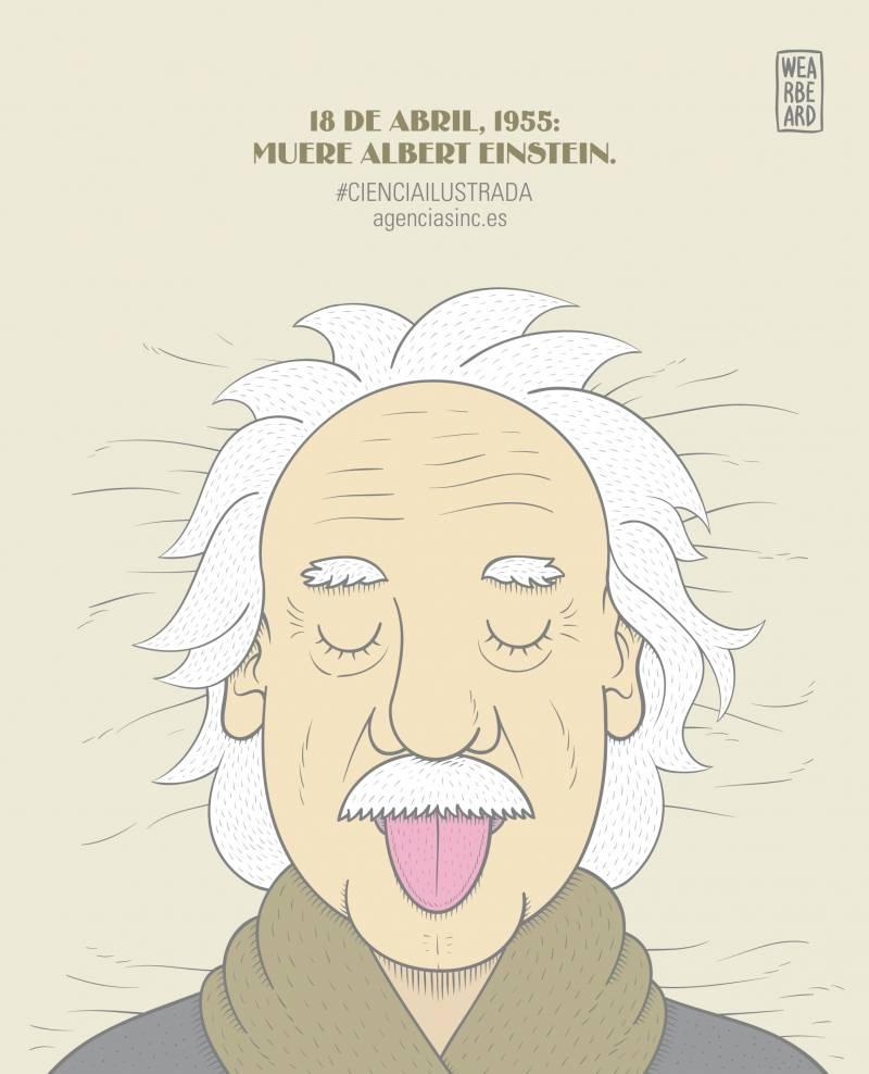 Se cumplen 60 años de la muerte de Einstein. / Sinc