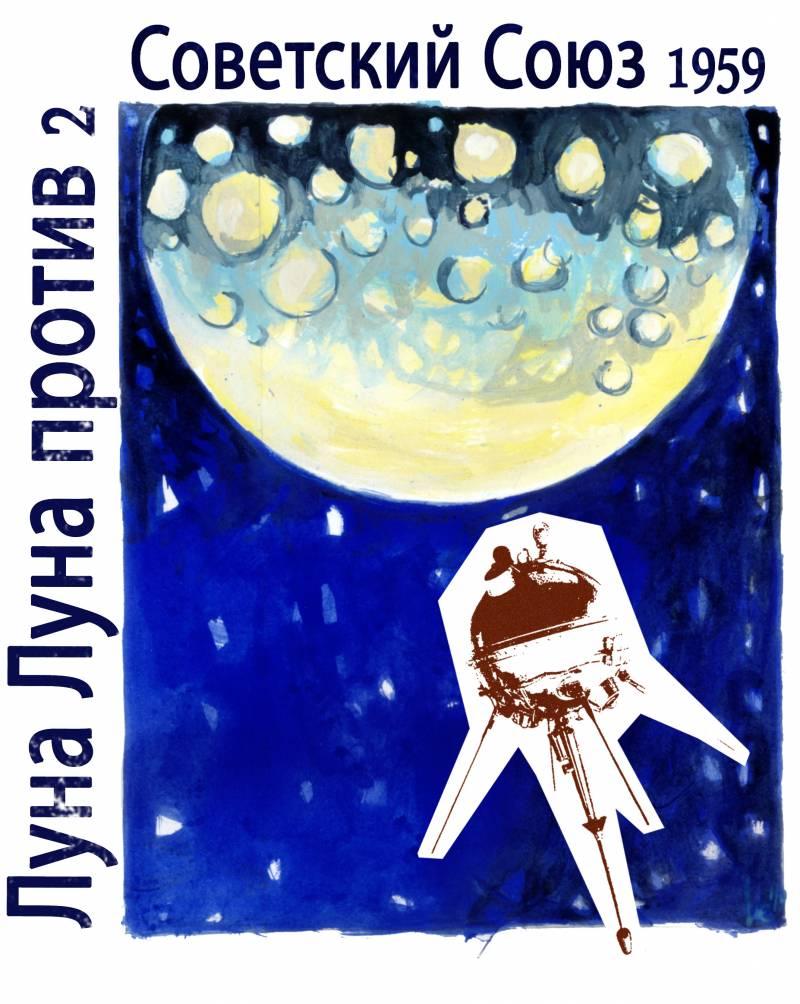 14 de septiembre 1959: la sonda soviética Luna 2 se estrella contra la Luna y se convierte en el primer objeto hecho por el hombre que la alcanza