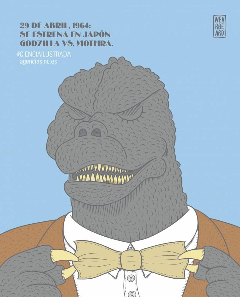 Se cumple medio siglo del estreno de la película Godzilla contra los monstruos. / SINC